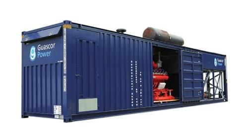 Газопоршневая электростанция Guascor sfgm 560