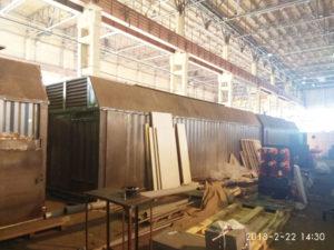 партия генераторов в контейнерах север