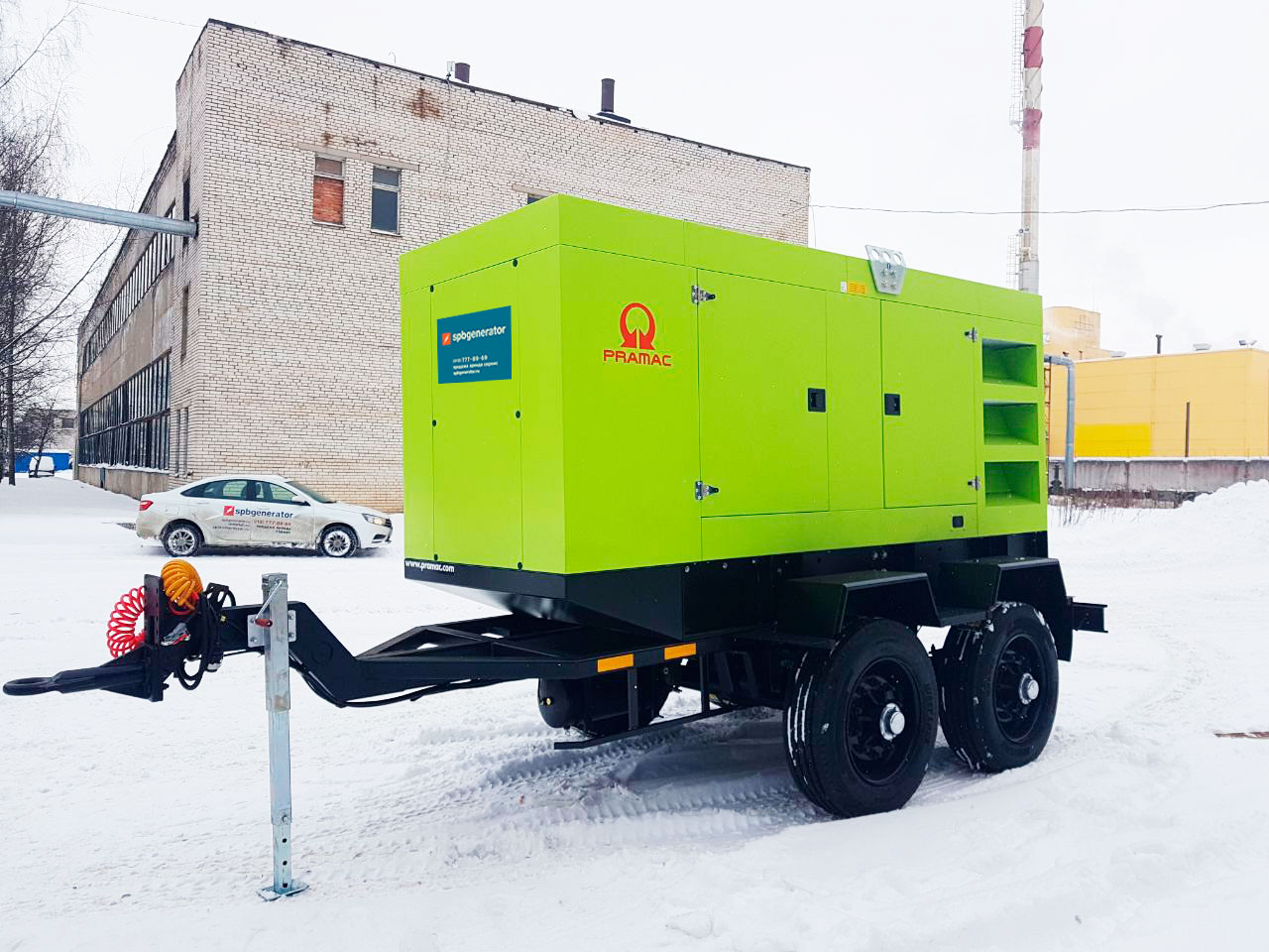 ДГУ Pramac GSW 415 на шассии