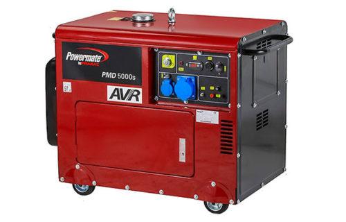 Дизельный генератор Powermate PMD5000s