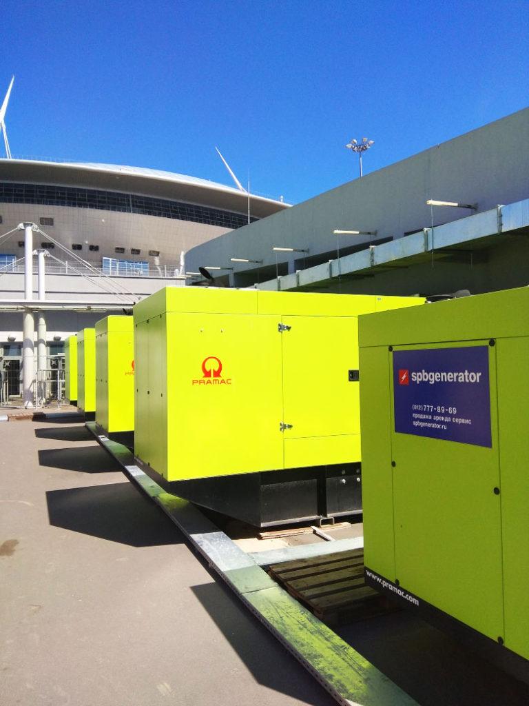 Электростанции для ЧМ FIFA 2018 в СПб